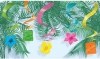 Rotorspirale, Hawaii-Motive (Tiki), 60 cm, 15er-Pack - 1