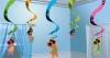 Rotorspirale, Hulamädchen, verschiedene Farben, 60 cm, 5er-Pack - 1