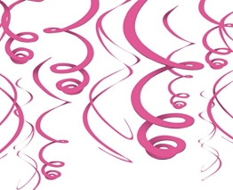 Rotorspirale, pink, 55 cm, 12er-Pack - 1
