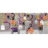 Rotorspiralen, Halloween-Mega-Pack, verschiedene Motive, 60/45 cm, 30-teilig - 1