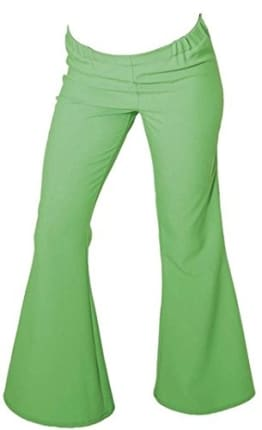 Schlaghose, Damen, grün - 1