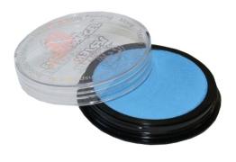 Schminke: Aqua-Schminke (Eulenspiegel), hellblau, 20 ml/30 g - 1
