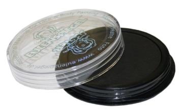 Schminke: Aqua-Schminke (Eulenspiegel), schwarz, 20 ml/30 g - 1