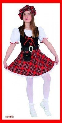 Schotten-Kostüm für Mädchen - 1