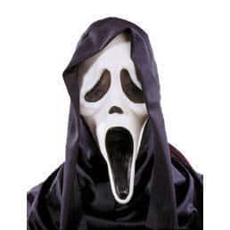 Scream-Maske: Geist mit Haube - 1