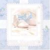 Servietten, Babyschuhe-Motiv, hellblau, 16er-Pack, 33 x 33 cm - 1