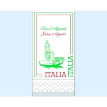 Servietten: Italien-Motiv, 33 x 33 cm, 250er-Pack - 1