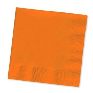 Servietten: Papierservietten, uni, cremefarben, 30 x 30 cm, dreilagig, 20er-Pack - 8