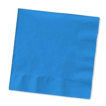 Servietten: Papierservietten, uni, dunkelgrün, 30 x 30 cm, dreilagig, 20er-Pack - 3