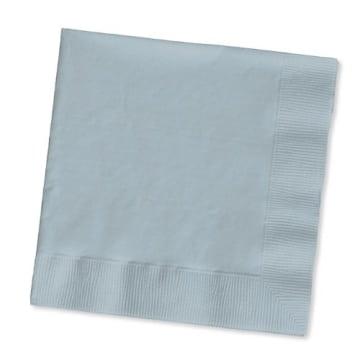 Servietten: Papierservietten, uni, weiß, 30 x 30 cm, dreilagig, 20er-Pack - 7