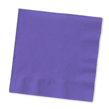 Servietten: Papierservietten, uni, weiß, 30 x 30 cm, dreilagig, 20er-Pack - 8