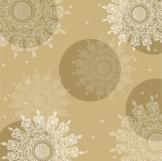Servietten: Party-Servietten, Crystal, creme, 33 x 33 cm, 20 Stück - 1