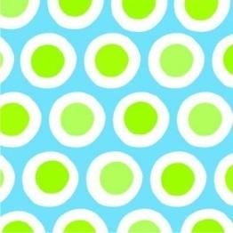 """Servietten: Party-Servietten """"Curl Blue"""", 33 x 33 cm, 20 Stück - 1"""