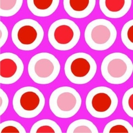 """Servietten: Party-Servietten """"Curl Pink"""", 33 x 33 cm, 20 Stück - 1"""