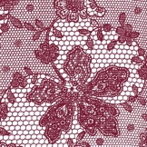 Servietten: Party-Servietten, Lace, rot, 33 x 33 cm, 20 Stück - 1