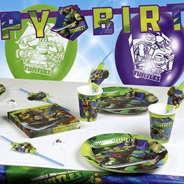 """Servietten: Party-Servietten, Motiv """"Teenage Mutant Ninja Turtles"""", 20 Stück - 2"""