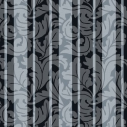 Servietten: Party-Servietten, Ornament, schwarz, 33 x 33 cm, 20 Stück - 1