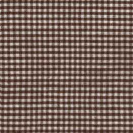 Servietten: Party-Servietten, Vichy, braun, 33 x 33 cm, 20 Stück - 1
