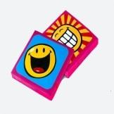 Servietten SMILEY, 20er-Pack Tischdeko Geburtstagspartys Smileys - 1