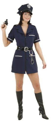 Sexy Polizistin : Kleid und Gürtel - 1