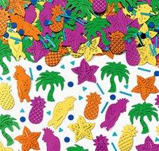Streu-Deko: Deko-Konfetti mit Ananas, Papagei, Palme und Seestern, bunt, 14 g - 1