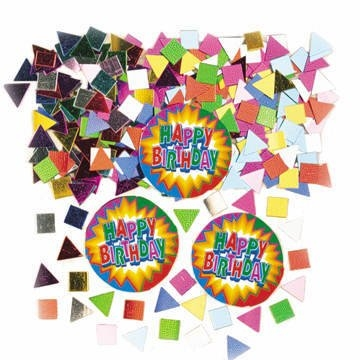 Streu-Konfetti 'Birthday Explosion', Streudeko Geburtstag - 1