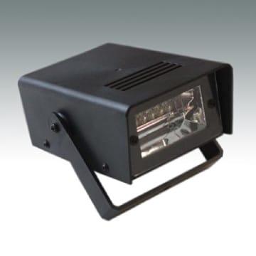 Stroboskop-Blitzer, mit Befestigungsbügel, batteriebetrieben, 125 x 95 x 50 mm - 1
