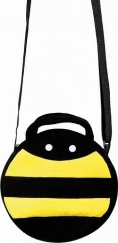 Tasche: Bienentasche, gelb-schwarz - 1