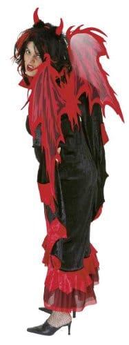 Teufelsflügel in Rot und Schwarz - 1
