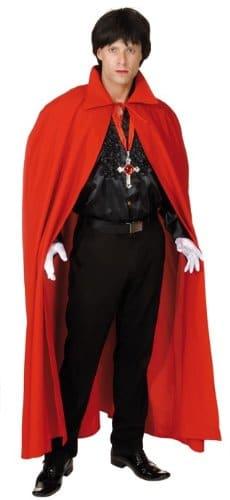 Teufelumhang, roter Umgang als Kostüm - 1