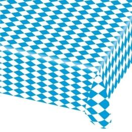 Tischdecke: 80 x 260 cm, Bayern-Muster, Folie - 1