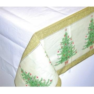 tischdecke papier tischtuch weihnachtsbaum 137 x 259 cm party deko. Black Bedroom Furniture Sets. Home Design Ideas