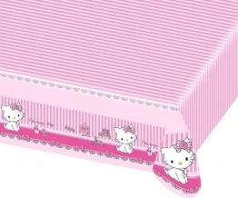 Tischdecke: Tischtuch, Hello Kitty/Charmmy Kitty, 120 x 180 cm - 1