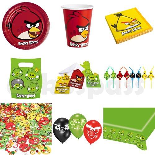 """Tischdecke: Tischtuch, Kunststoff, Motiv """"Angry Birds"""", 120 x 180 cm - 2"""