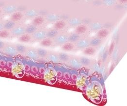 """Tischdecke: Tischtuch, Kunststoff, Motiv """"Barbie Pink Shoes"""", 120 x 180 cm - 1"""