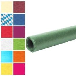 Tischtuch: Damasttischtuchrolle aus Papier, dunkelgrün, 8 x 1 m - 1