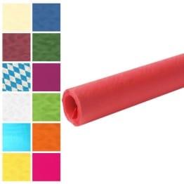 Tischtuch: Damasttischtuchrolle aus Papier, rot, 8 x 1 m - 1