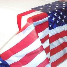 Tischtuch: USA-Design, 137 x 259 cm - 1