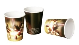 Trinkbecher: Pappbecher, Star Wars, 250 ml, 8er-Pack - 1