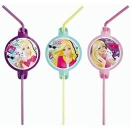 """Trinkhalme: Strohhalme, Motiv """"Barbie Fashion"""", 8 Stück - 1"""