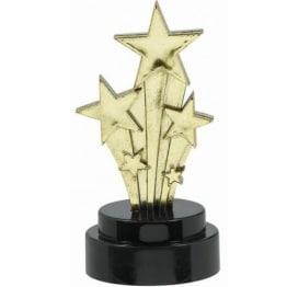"""Trophäe: Auszeichnung """"Shooting Star"""", 7,5 cm, 6er-Pack - 1"""