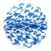 Wabenball, 30 cm, blau-weiße Rauten - 1
