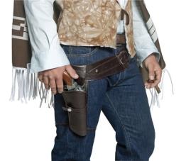 Waffengürtel: Cowboygürtel, 1 Tasche, 125 cm - 1