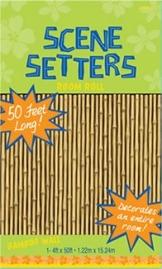 Wandtattoo: Scene-Setter mit Bambus, Folie, 1,20 m x 12,10 m - 1