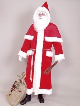 Weihnachtsmann-Verkleidung: exklusiver Weihnachtsmannmantel - 1