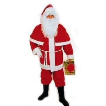 Weihnachtsmannanzug mit Pelerine, standard - 1