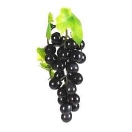 Weintrauben schwarz, 42-fach, 15cm, Kunststoff - 1