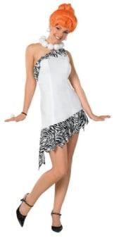 Wilma Feuerstein Verkleidung, The Flintstones Kostüm für Erwachsene - 1