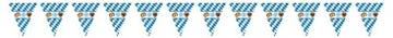 Wimpel: Wimpelkette, Bayernwimpel mit Oktoberfestmotiv, 2,70 m x 22 cm - 1