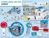 XXL-Kreativ-Partyset: Polizei, 89-teilig, Isis Wimmelwelt - 1